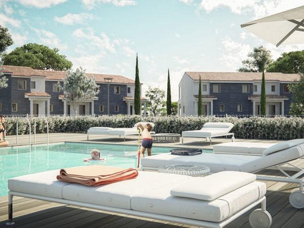 Cala Rossa Bay Suite avec piscine chauffée privée