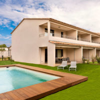 Location villa avec piscine privée Cala Rossa Bay