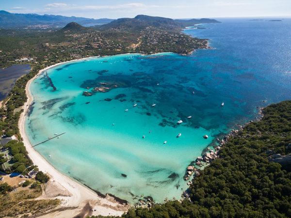 Plage de Santa Giulia Corse du Sud