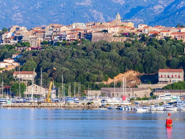 Town of Porto-Vecchio South Corsica