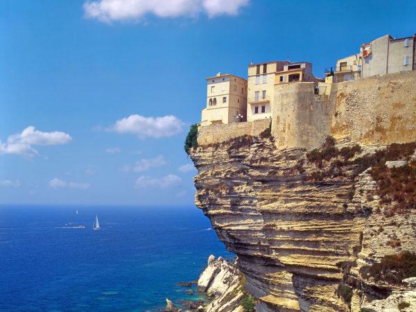 Village suspendu à Bonifacio Sud Corse