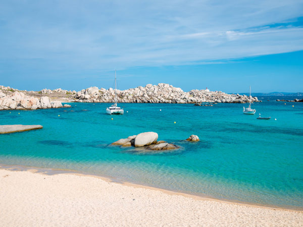 The Lavezzi Islands at Bonifacio South Corsica