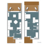 Plan T3 2 Chambres - Cala Rossa Bay Resort