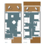 Plan T4 3 Chambres - Cala Rossa Bay Resort